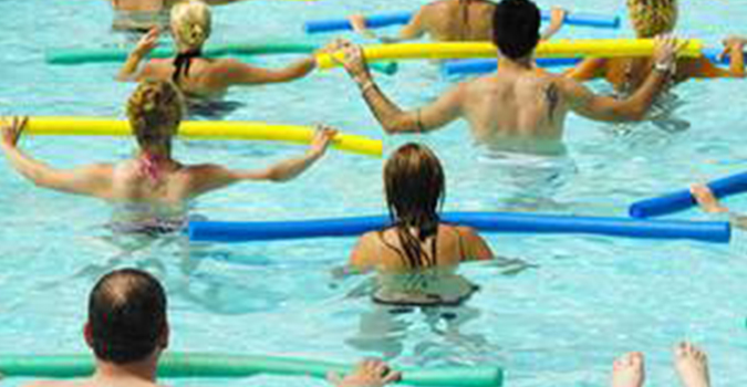 Aqua Aerobics and Swimming Lessons